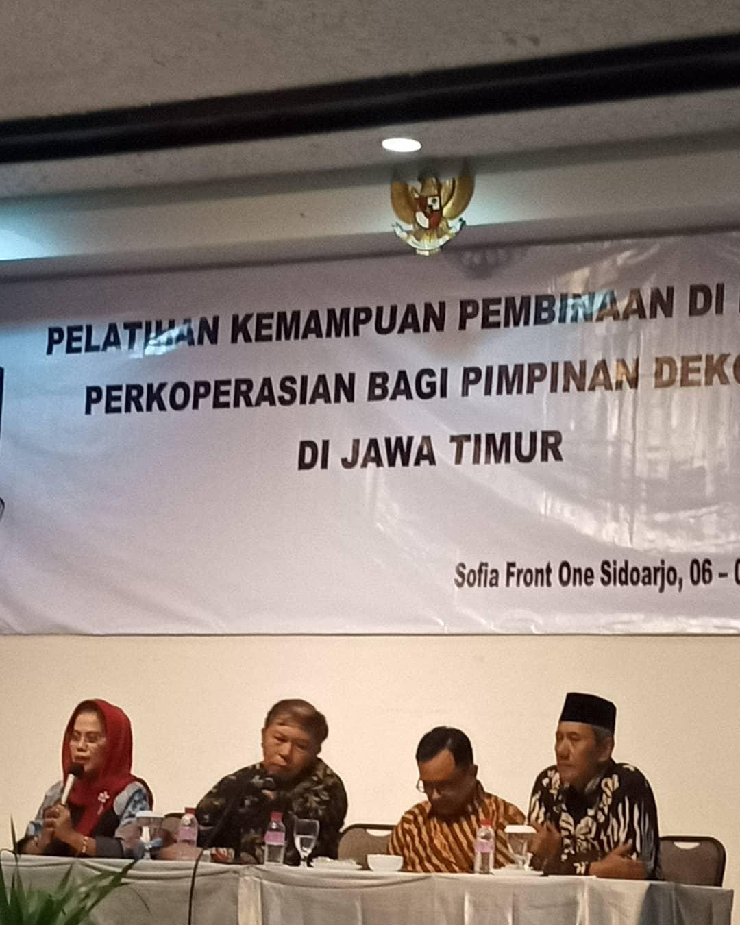 Dekopinwil Jatim dan Dekopinda di Jawa Timur Ambil Sikap Terkait Munas 2019 di Makasar