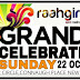 Raahgiri connaught place delhi is on on 22nd october 2017