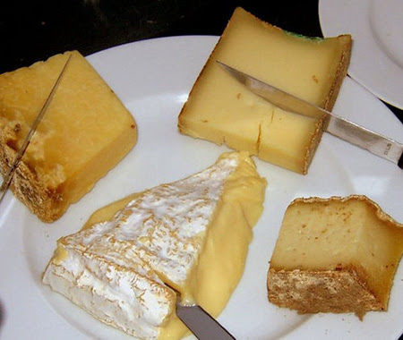 formaggi vari