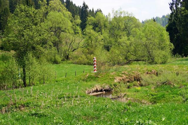 San, granica, Bieszczady