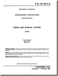 TO 1A-7D-2-2 (1 november 1976) Egress and Survival Systems_01