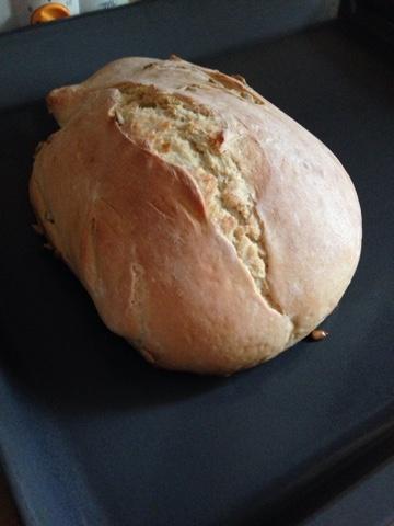 Fırında ekmek yapıyorummm