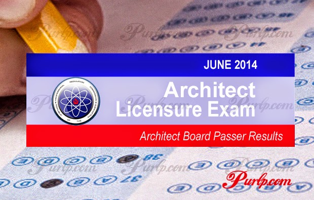 june 2014 architect licensure exam results