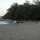 Our beach in Tofo, Mozambique