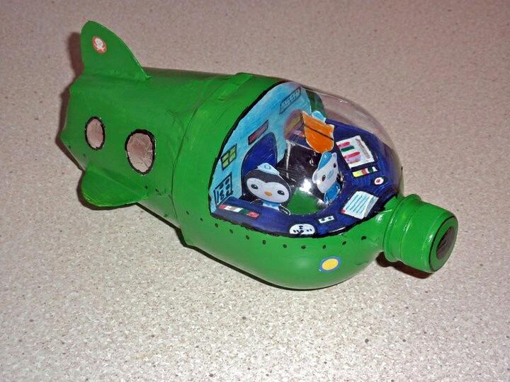 Ideas De Juguetes Con Material Reciclado - Manualidades-con-materiales-de-casa