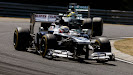 Pastor Maldonado racing his Williams FW35