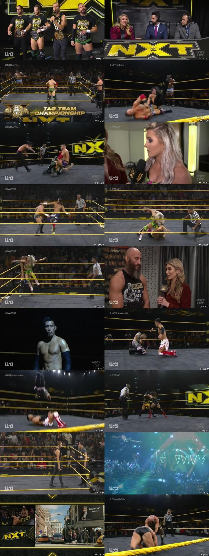 Screen Shot Of WWE NXT 27th November 2019 HDTV 480P 300MB