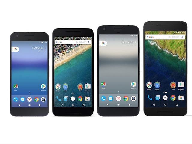 Google Pixel vs Nexus