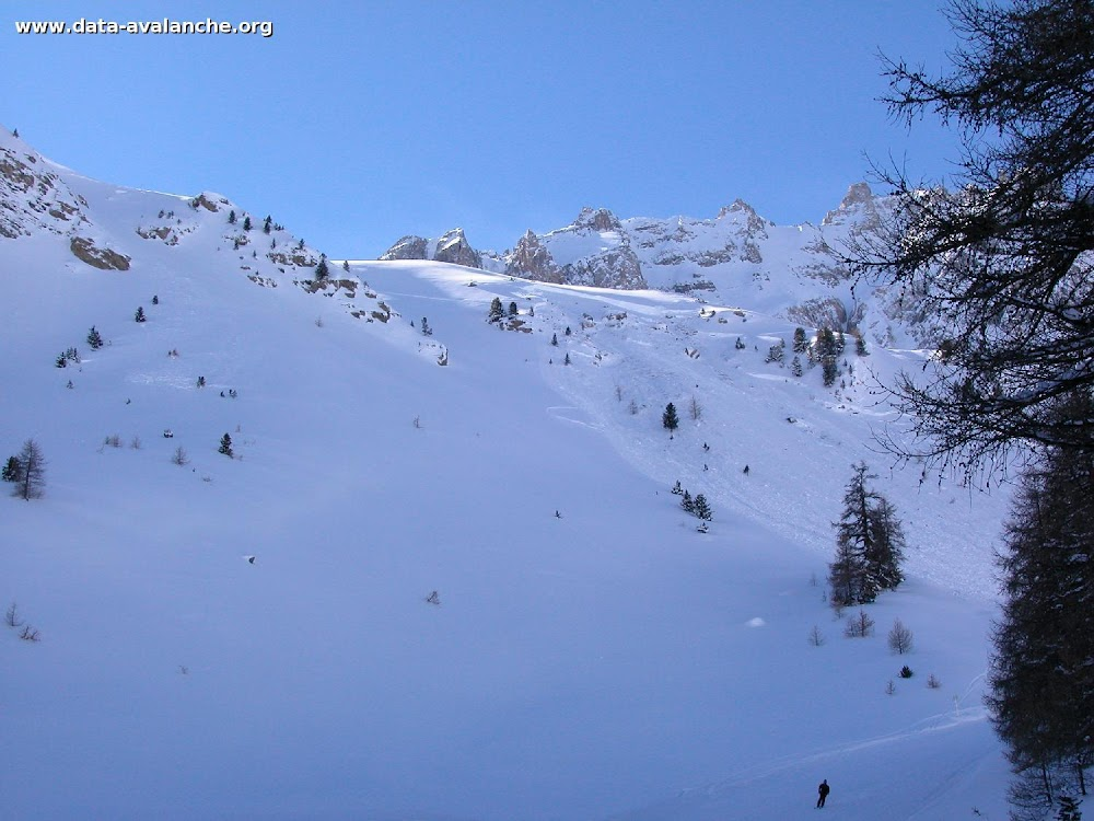 Avalanche Queyras, secteur Ceillac, Chaurionde - Photo 1 - © Ulisse Guilaume