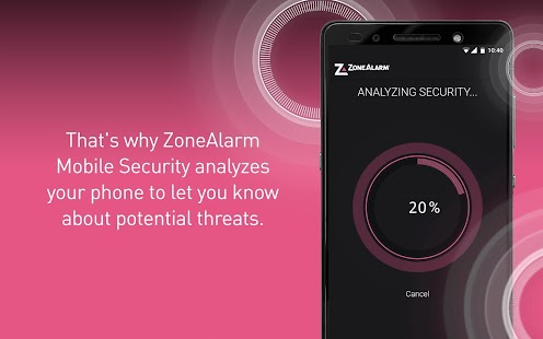 ZoneAlarm Mobile Security- screenshot thumbnail