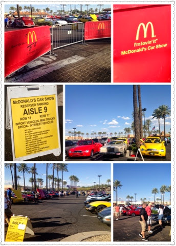 Car Show In Scottsdale Mcdonalds