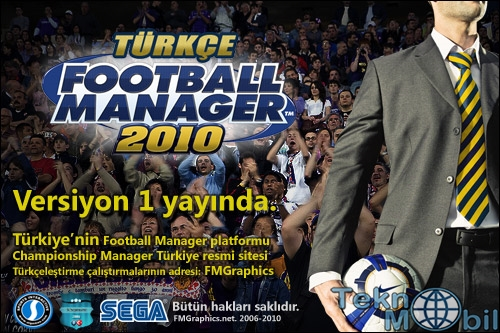 Football Manager 2010 Türkçe Full