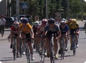 Перекрытие движения в связи с проведением велогонки
