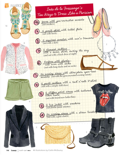 Parisian Chic A Style Guide By Ines De La Fressange The Simply Luxurious Life
