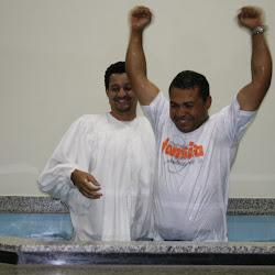 Celebração de Batismo dia 17 de agosto 2008