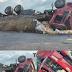 Motorista escapa em acidente na Serra de Teixeira na tarde deste domingo
