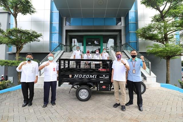 Sukseskan Revolusi Hijau, Bank Kalsel Berikan 1 Unit Motor ke BKD