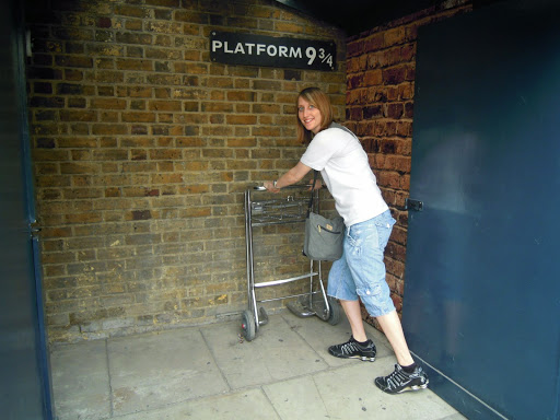 From the Harry Potter walking tour - London Top 10
