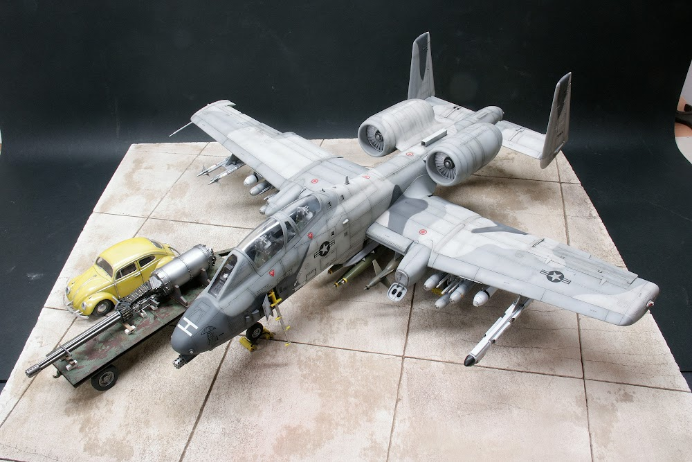 G A 10 N Aw Thunderbolt Ii Trumpeter 1 32 Ready For Inspection Large Scale Planes
