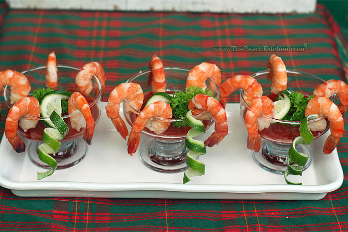 Shrimp Cocktail | www.thepeachkitchen.com