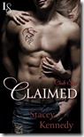 claimed by stacey kennedy