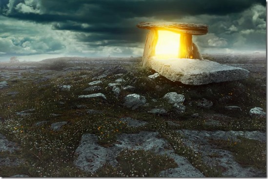 Megaliths generate their own energy fields