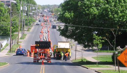 DPW Road Work