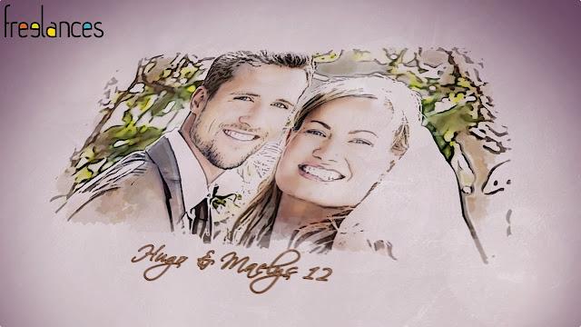 clip vidéo mariage thème dessine moi texte 12 photo 12