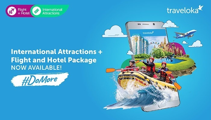 How to Book Traveloka Flight Hotel Package International Attractions