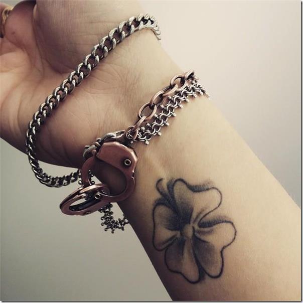 Tatuajes De Trébol Creativas E Inspiradoras Tatuajes247