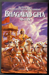 Cover of Arjun Vishad Yog's Book Bhagvad Gita