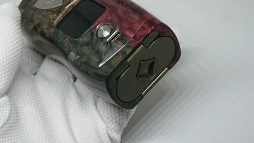 DSC 3099 thumb%255B2%255D - 【MOD】VICIOUS ANT 「KNIGHT STABWOOD #084(SX550J)」レビュー。YiHiハイエンドチップを搭載したスタビMOD!カラー液晶&Bluetooth【高級/スタビライズドウッド/電子タバコ/VAPE/フィリピン製】