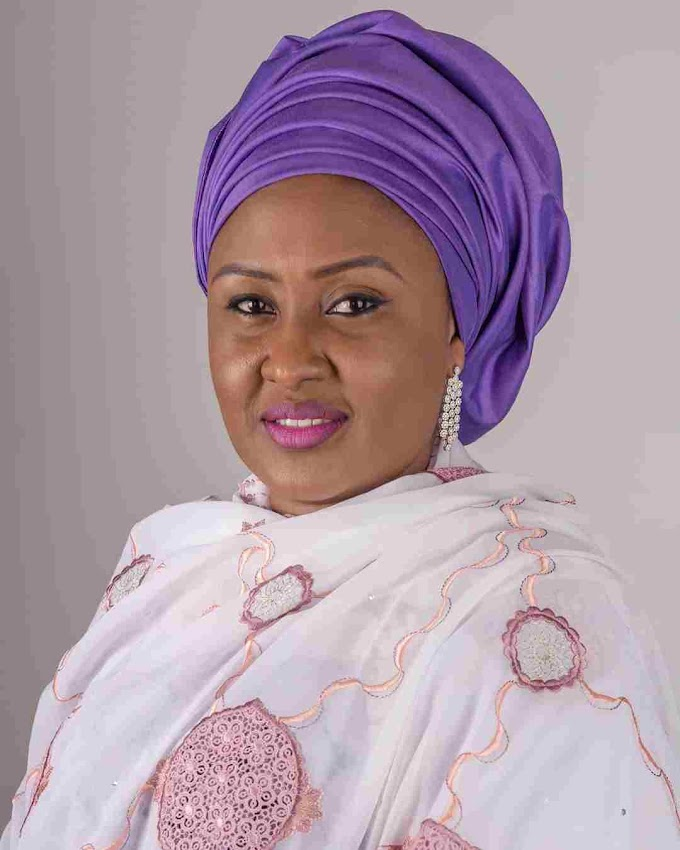 Nigeria's First Lady Aisha Buhari wails as police detained her staff