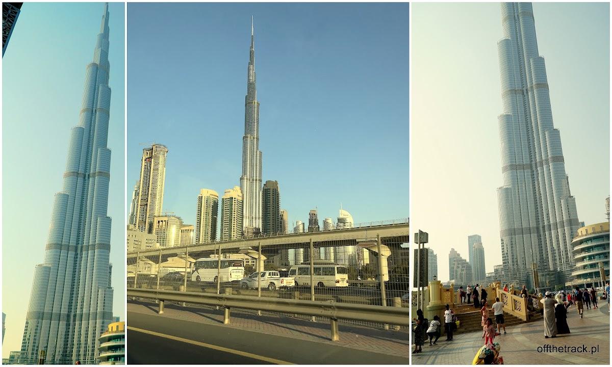 Najwyższy budynek na świecie Burj Khalifa w Dubaju, Zjednoczone Emiraty Arabskie
