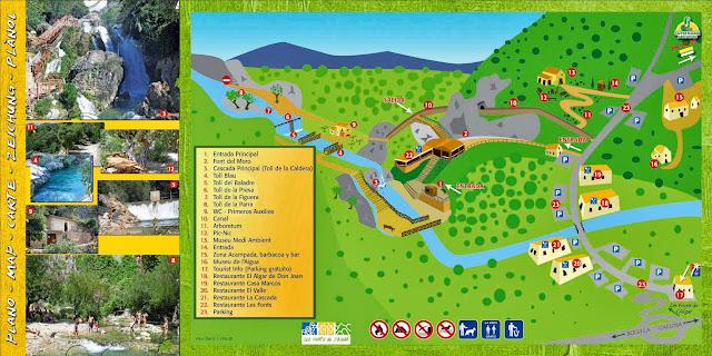 Resultado de imagen de Fuentes del Algar mapa