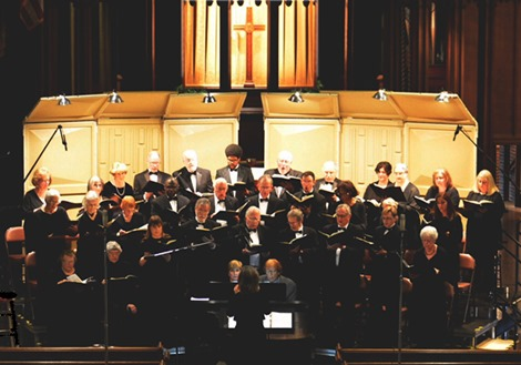 Photo 2 - The Crescent Choral Society under the baton of Dr. Deborah S. King