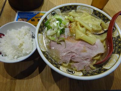 すごい煮干ラーメン凪五反田西口店のランチメニュー