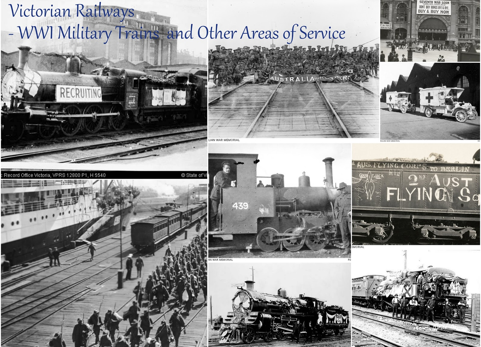 Victorian WW1 Military Trains - Looking for the Evidence