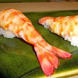 giant shrimp lunch at Sukiyabashi Jiro in Roppongi, Tokyo, Japan