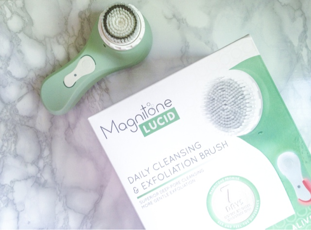 Magnitone Lucid Cleansing Brush Review Kimamely Beauty