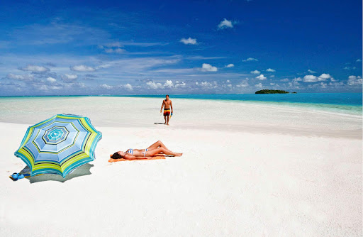 Relax on the most beautiful beaches in the world when you cruise to the Cook Islands.