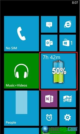 Hướng dẫn xem và hiển thị phần trăm PIN cho Windows Phone + Hình 5