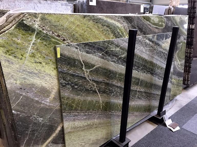 Tischplatte Marmor IRISH GREEN Couchtisch Sideboard