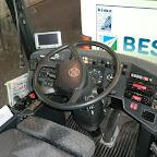 Het dashboard van de Setra van Besseling bus 501