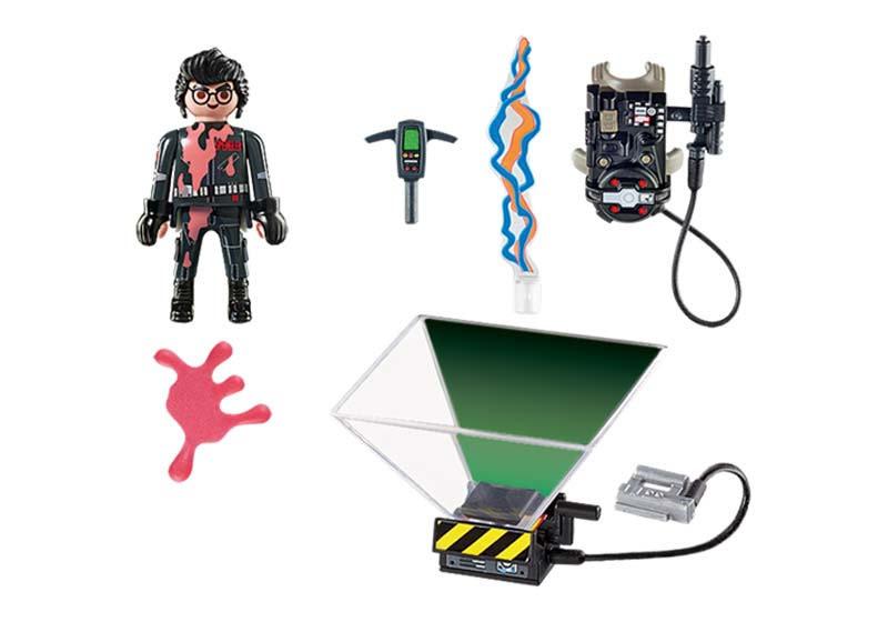Contenido real de Playmobil® 9346 Cazafantasmas Egon Spengler