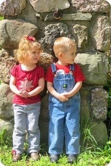 Twins 3 Year Portraits