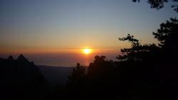 Lever du Soleil camp Paliri