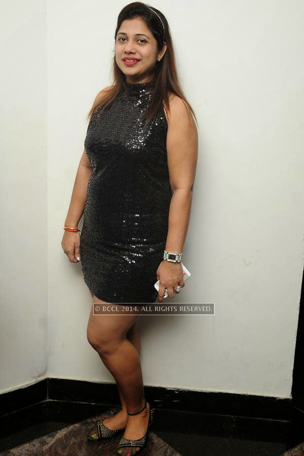 Ruchi during a get-together organised by a city club.