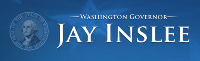 Logo of the Governor of Washington State, Jay Inslee. Graphic: State of Washington