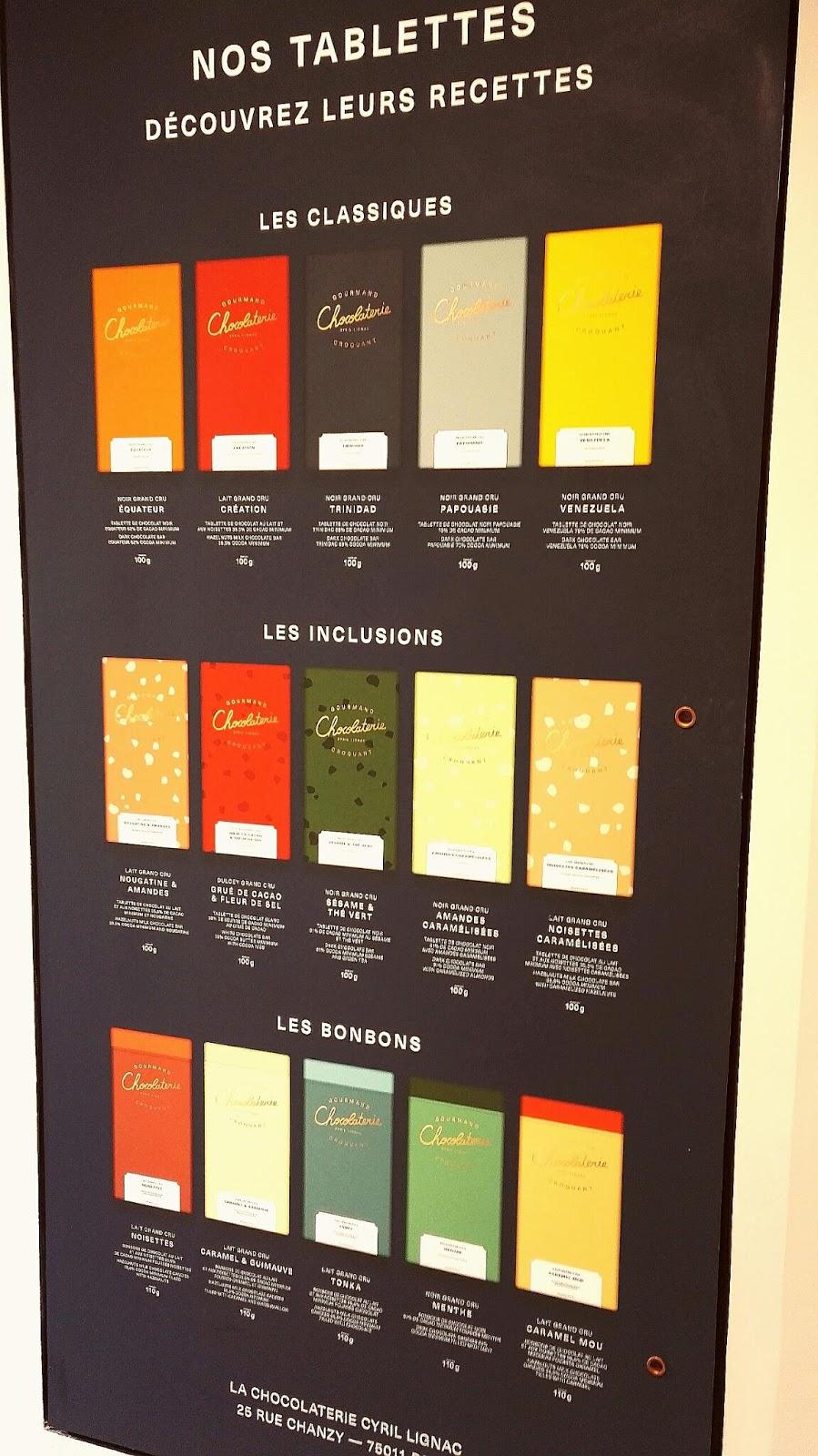 Les tasters: la chocolaterie cyril lignac